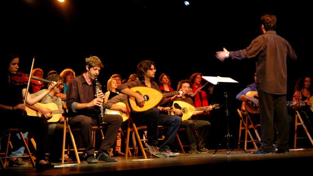 Εκδήλωση του Τμήματος Παραδοσιακής Μουσικής του Δημοτικού Ωδείου Καλαμάτας